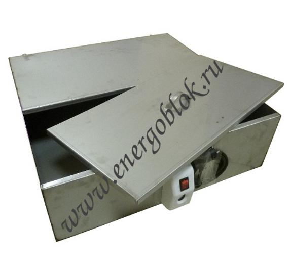 Водонагреватель бак наливной 125 л с электронагревателем ( нержавейка