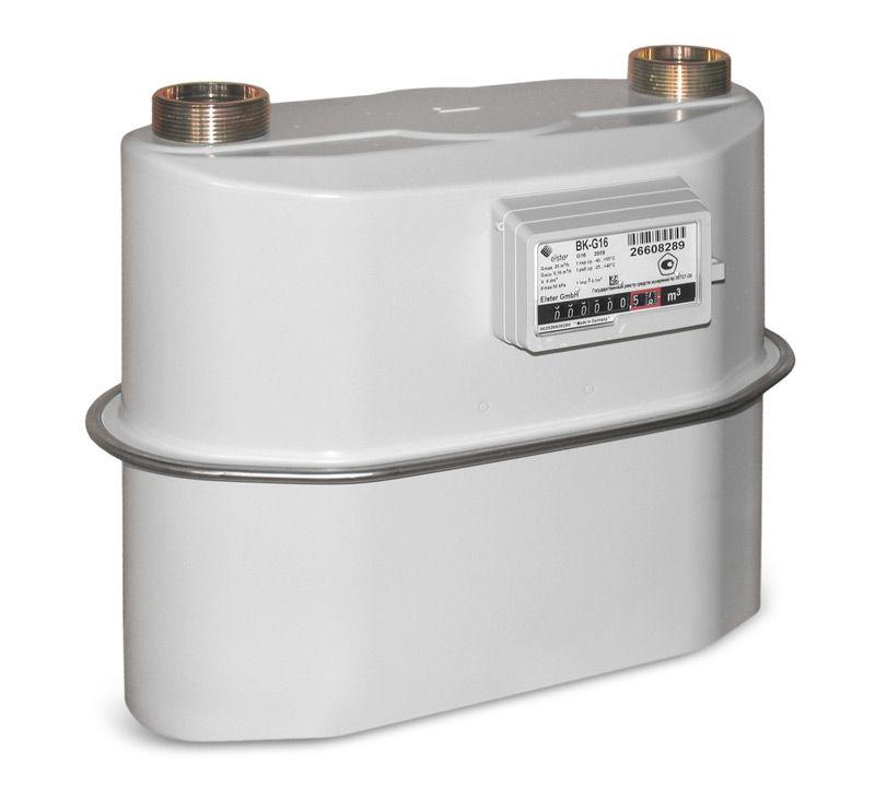 Мембранные (диафрагменные, камерные) счетчики газа