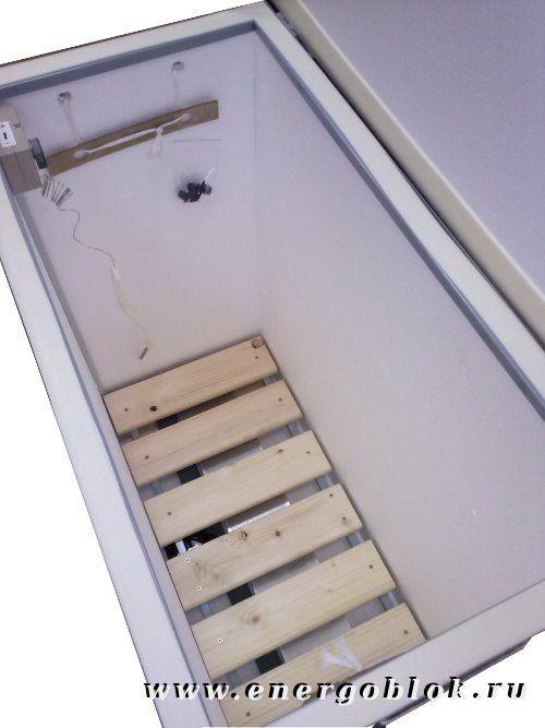 Термошкаф балконный погребок 2 с вентиляцией и перегородкой .